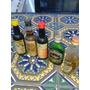 5 Botellitas Miniatura Whisky.vino Etc.antiguas ,coleccion