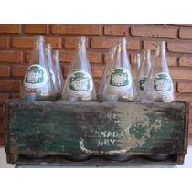 Cajon De Canada Dry Con 12 Botellas De 828 Cc.