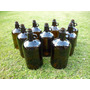 Frasco Botellon Antiguo Tipo Damajuana De 5 Lts Marron Ambar