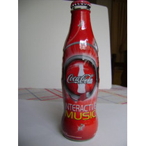 Botella Coca Cola Interactive Music 2009 Edicion Limitada