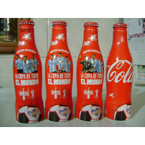 Botella Coca Cola Aluminio Mundial Brazil 2014