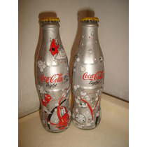 Botellas Llenas Coca Cola Light 2007 Setx 2 Cqws