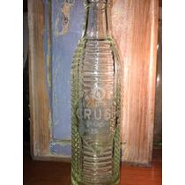 Antigua Botella De Gaseosa Labrada Crush 3 Lineas