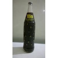 Antigua Botella De Tab De Litro De Coca Cola Llena!! Cerrada