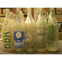 Lote Botellas Gaseosa Pritty Mirinda Fanta Venado Coca Bbr