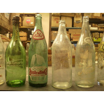 Antigua Botella Gaseosa Australinda Bahía Blanca