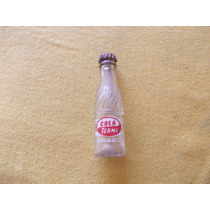 Mini Botella Gaseosa Cola Terma