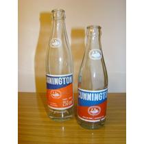 Antigua Botella De Gaseosa Cunnintong Por 2