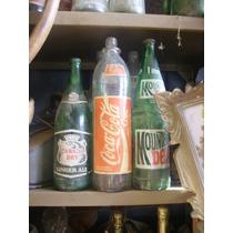 Antiguas Botellas De Gaseosa Años 60