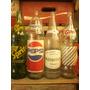 Antigua Botella Gaseosa Sprite Diet Pepsi Manantial Gini