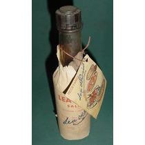 Botella Antigua Salsa Inglesa Lea Perrins Con Recetario