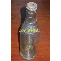 Bilz Botella De Gaseosa Antiguedad Año 1957 Con Tapíta Retro