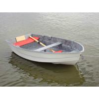 Bote Della Ostia Fg-260 Fibra Doble Fondo Pesca Y Recreacion