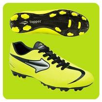 Botines De Futbol Topper Velocidad League Zapatillas Hombre