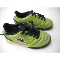 Zapatillas Botines Papi Futbol Kappa Original Talle 24
