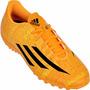 Botines Adidas Modelo Messi Papi Fútbol Adultos F5 Tf