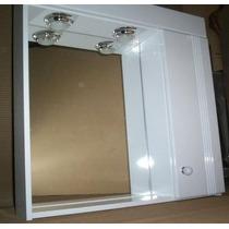Peinador Botiquin Espejo Laqueado Poliuretano 60x60 Baño-3f
