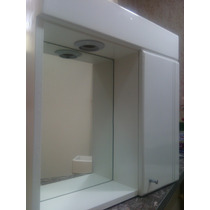 Botiquín Peinador Espejo Baño Blanco