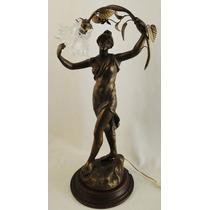 Escultura Francesa Petibronce Firmada Raphanel