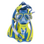 Buceo Para Niños Kit Cressi Rocks Kid Set