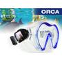 Mascara Profesional Snorkel Orca Deporfan