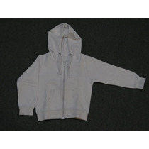 Impecable!!! Campera Mimo T.6 Nena Frisa Blanca Bordada