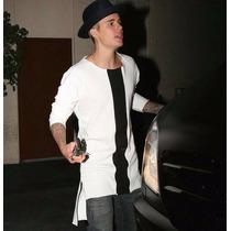 Buzo Extendido Estilo Justin Bieber Swag