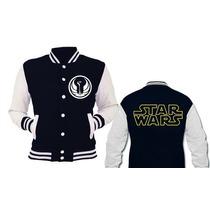Campera Universitaria Star Wars- Cualquier Logo