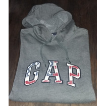 Buzo / Hoodie Gap Gris L