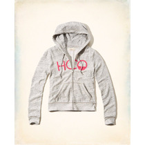 Hollister By Abercrombie And Fitch Buzo Hoodie Campera