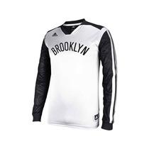 Buzo Nba Adidas Brooklyn Nets Traído De Usa
