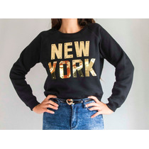 Buzos Mujer Importado New York