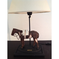 Caballo Polo Carrera Criollo Lampara Decoracion Arte Regalo