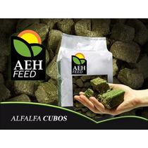 Cubos De Alfalfa - Aeh Feed - Alimento Equinos -