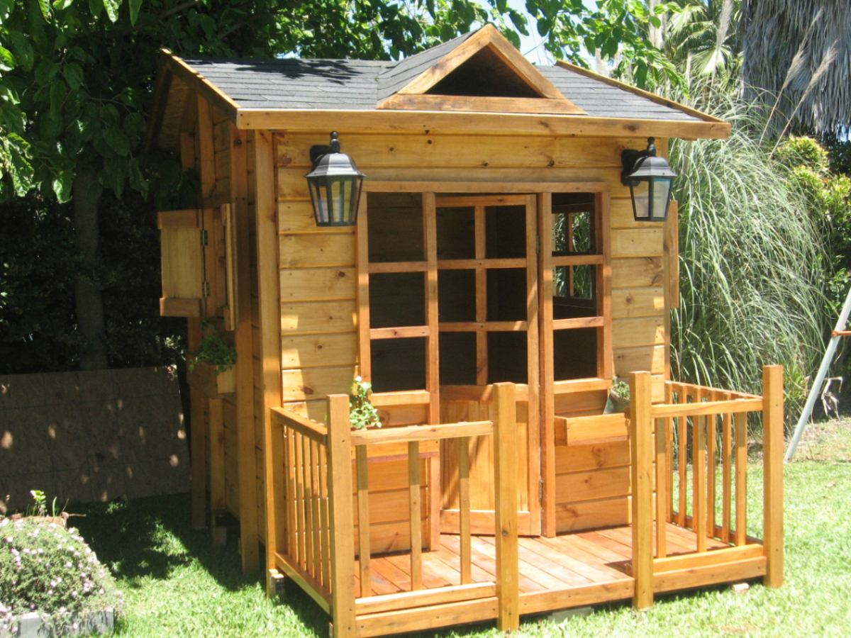 Casitas infantiles imagui for Casas infantiles de madera para jardin