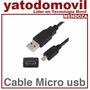 Mendoza Cable De Datos Micro Usb Reforzado Alta Calidad
