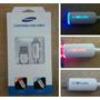 Cable Usb Con Luz Led Cambia De Color