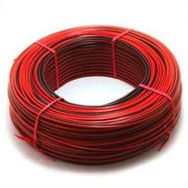 Cable Parlante Bafle Sonido Potencia Rojo Negro Bipo 2x0.50