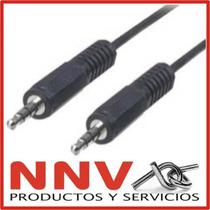 Cable Miniplug 3.5mm Estereo Macho Macho - 3 Metros - Nnv