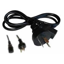 Cable De Alimentacion Power Para Pc- Monitor- Impres