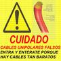 Cable Unipolar 6mm Marca Argenplas 100% Cobre + Medidas