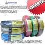 Cable Electrico Unipolar 1 X 2.5 Mm Bajo Normas X 100mts Pvc