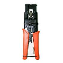 Pinza Crimpeadora Compresión Ajustable Coaxil Bnc Rg6 Rg59