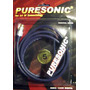 Cable Para Subwoofer Coaxial Ofc Puresonic Gold 4m Blister