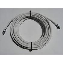 Rollo De Cable Rg6 Armado Con Fichas Por 10 Metros