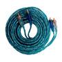 Cable Rca Audiopipe Libre De Oxigeno Fichas Gold 7 Mtrs