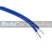 Cable De Parlante-woofer Mate Blue De 16 Ga Stinger X Metro