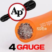 Cable 4 Gauge Audiopipe Alimentacion Para Potencia X Metro