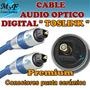 Cable De Audio Optico Digital Toslink 1,5m Premium Blister