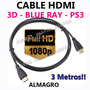 Cable Hdmi V1.4 Maxima Velodad 3d Full Hd 1080p Xbox Dvd Tv